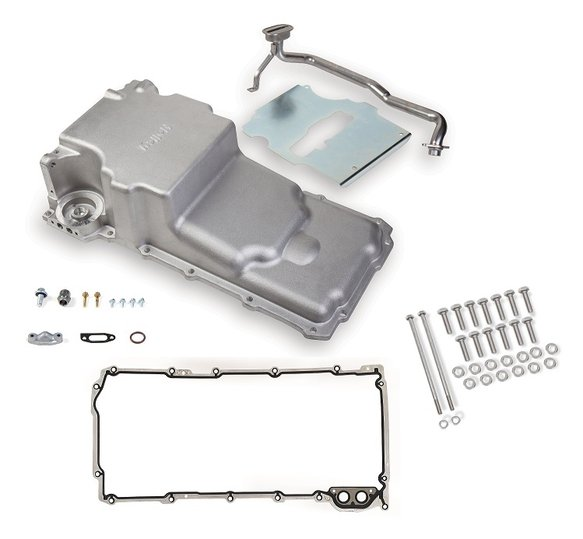 VK090001 - GM LS Retro-fit Oil Pan w/ Gasket & Bolts Kit - additional front clearance Image
