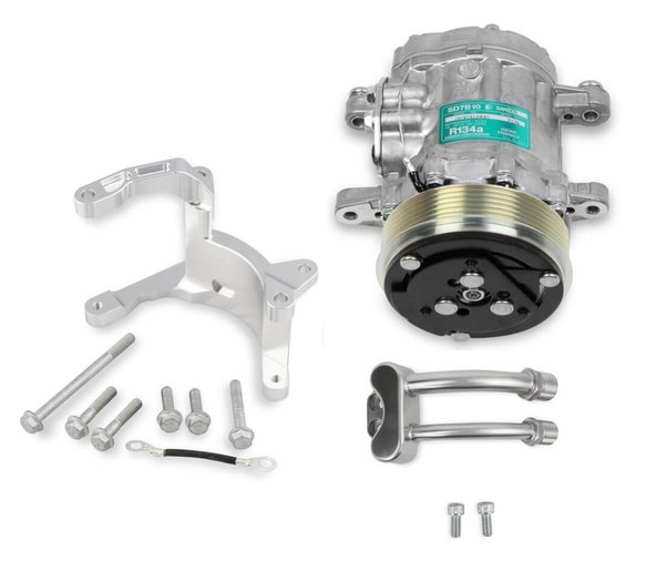 VK090171 - Low Mount A/C Accessory Drive Kit for the Gen 5 LT4/LT1 Dry Sump Engines Image