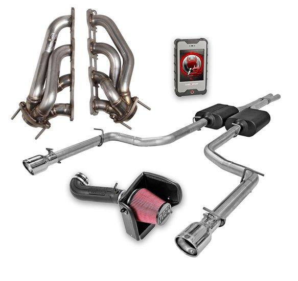VK110028 - Holley Proven Packages™ - Level 2 for 2005-2008 Dodge Charger/Magnum/Chrysler 300, 5.7L Hemi Engine Image