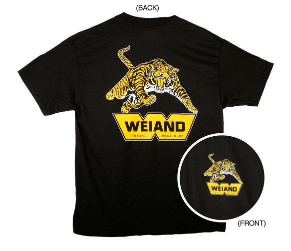10007-XXXLWND - Black Weiand Tiger T-Shirt (3X-Large) Image