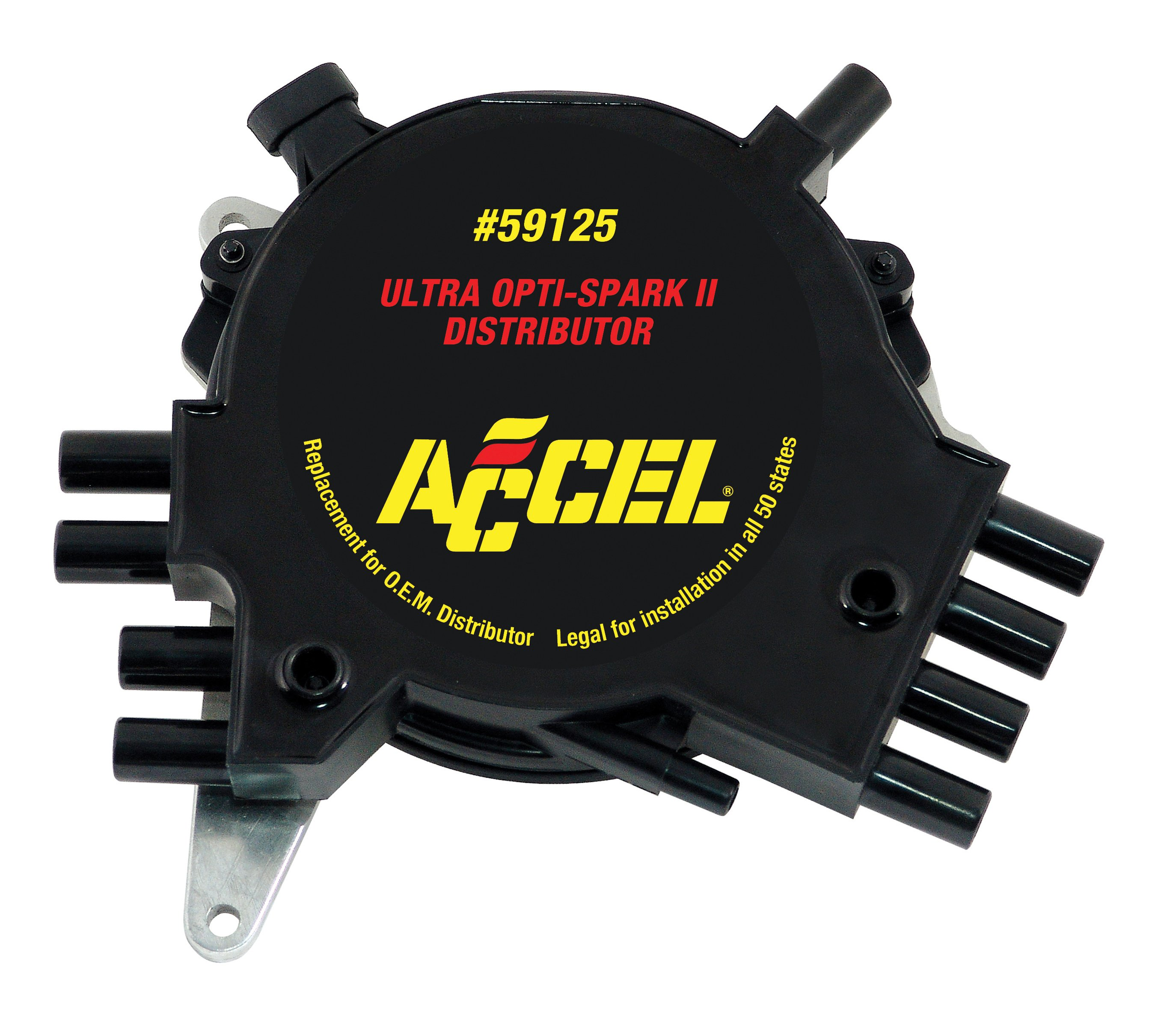 Accel Dual Point Distributor Wiring Diagram 43 Electronic Ignition Coil 59125 Manufacturer Of Coils Spark Plug Wires Chevy Hei At