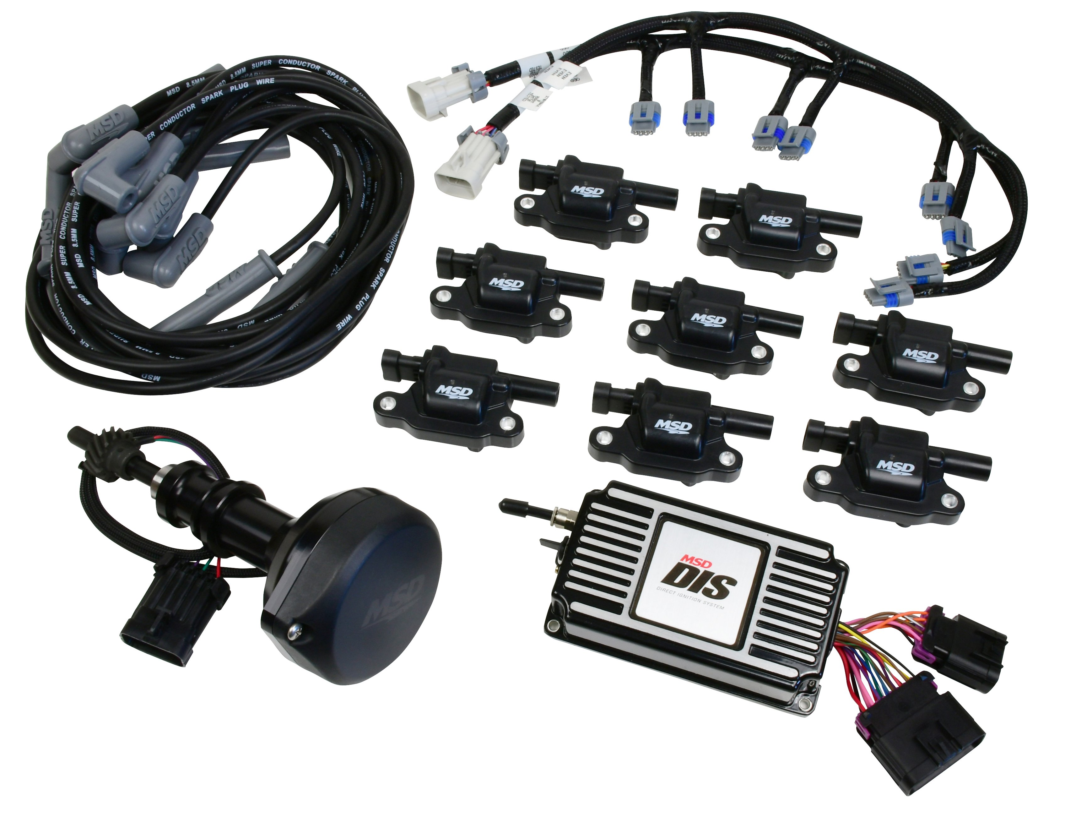 dis kit s block ford, 289 302, black Wiring Harness For Ford Bronco 289