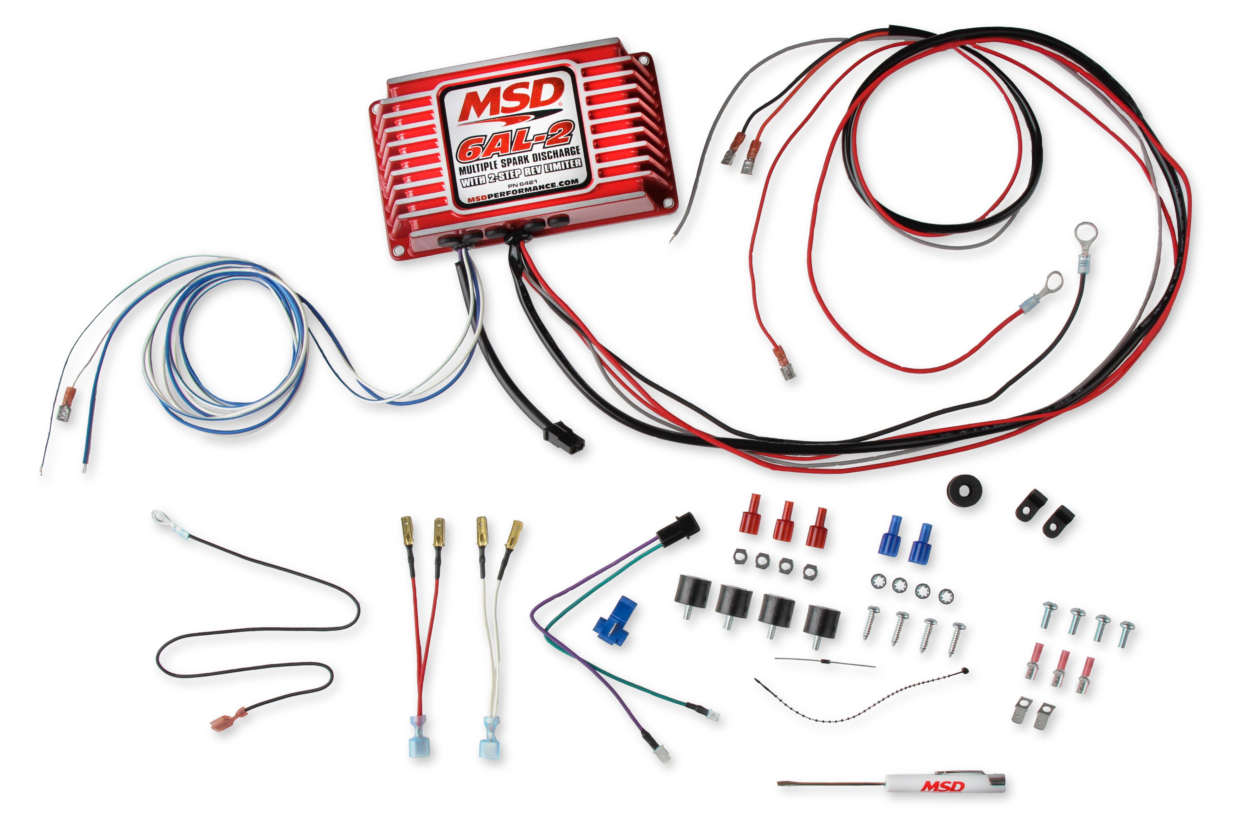 MSD 6421 MSD 6AL-2 Ignition ControlHolley