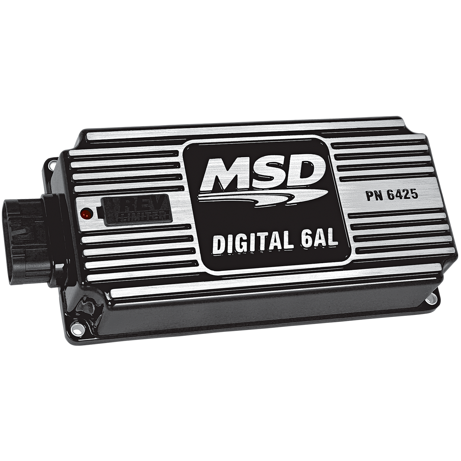 Msd 64253 Black 6al Digital Ignition W Rev Control 2wire Distributor Wiring Diagram Connected To Image