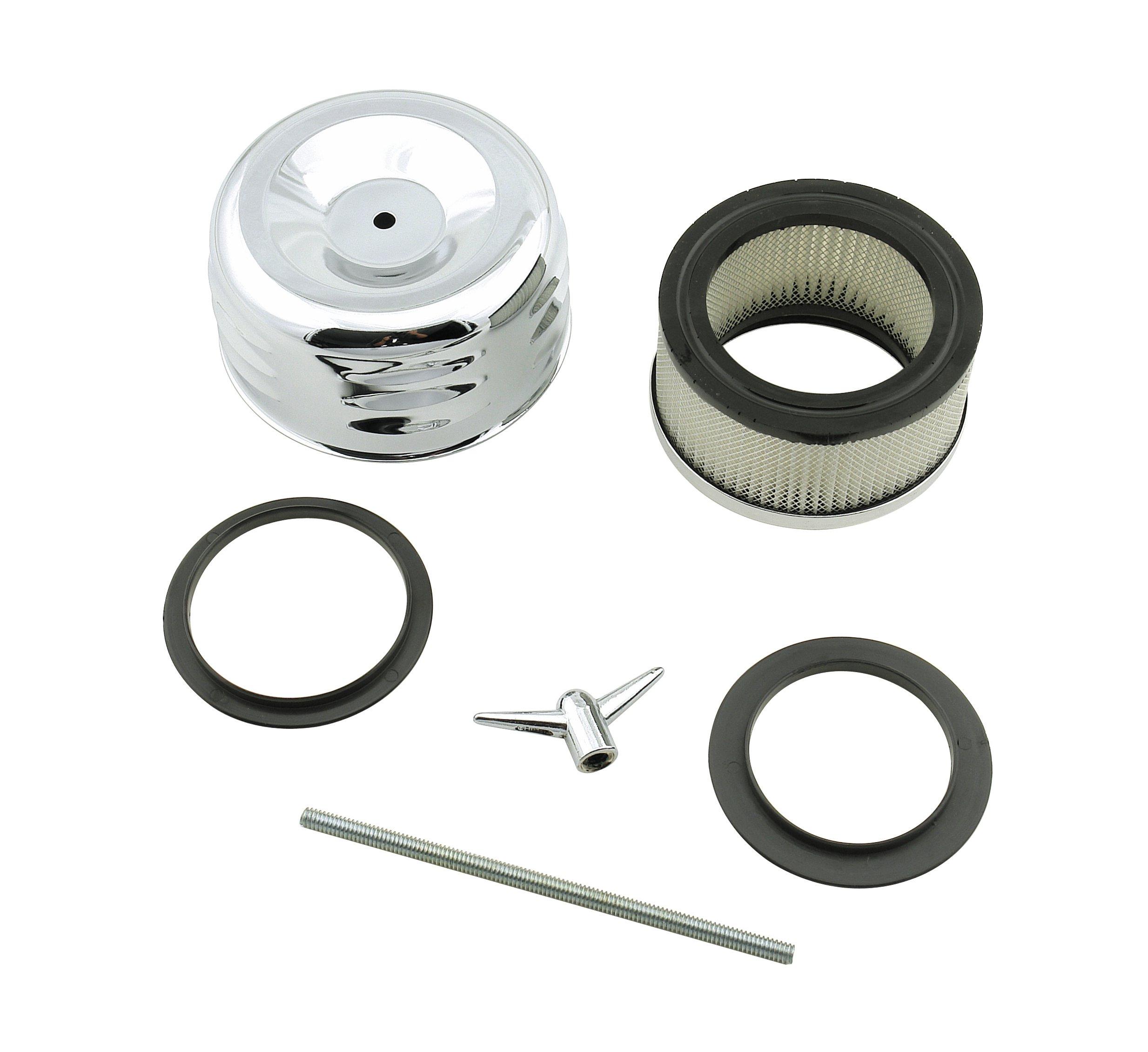 mr  gasket 6475 air filter assembly