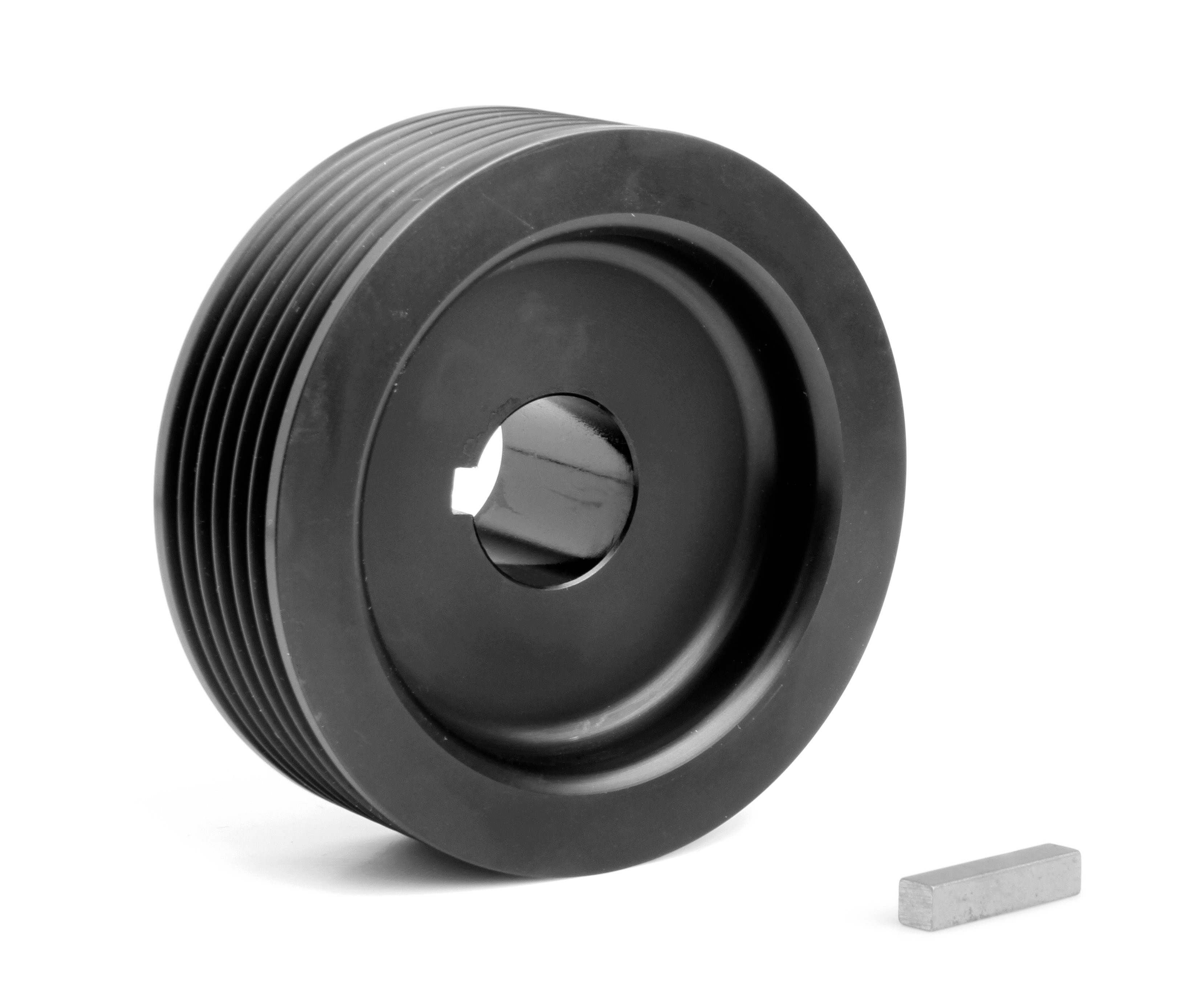 Aluminum Supercharger Pulley: Weiand 6791 Weiand Powercharger Upper Pulley