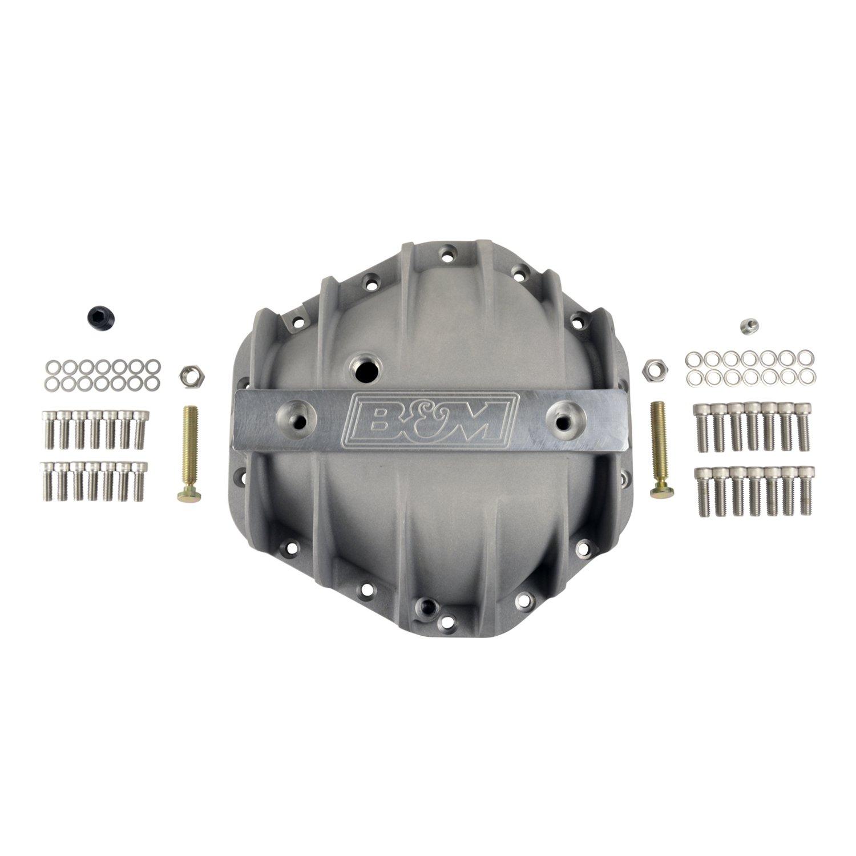 B&M Hi-Tek Aluminum Differential Cover for GM Corporate 14-bolt (10.5-inch)