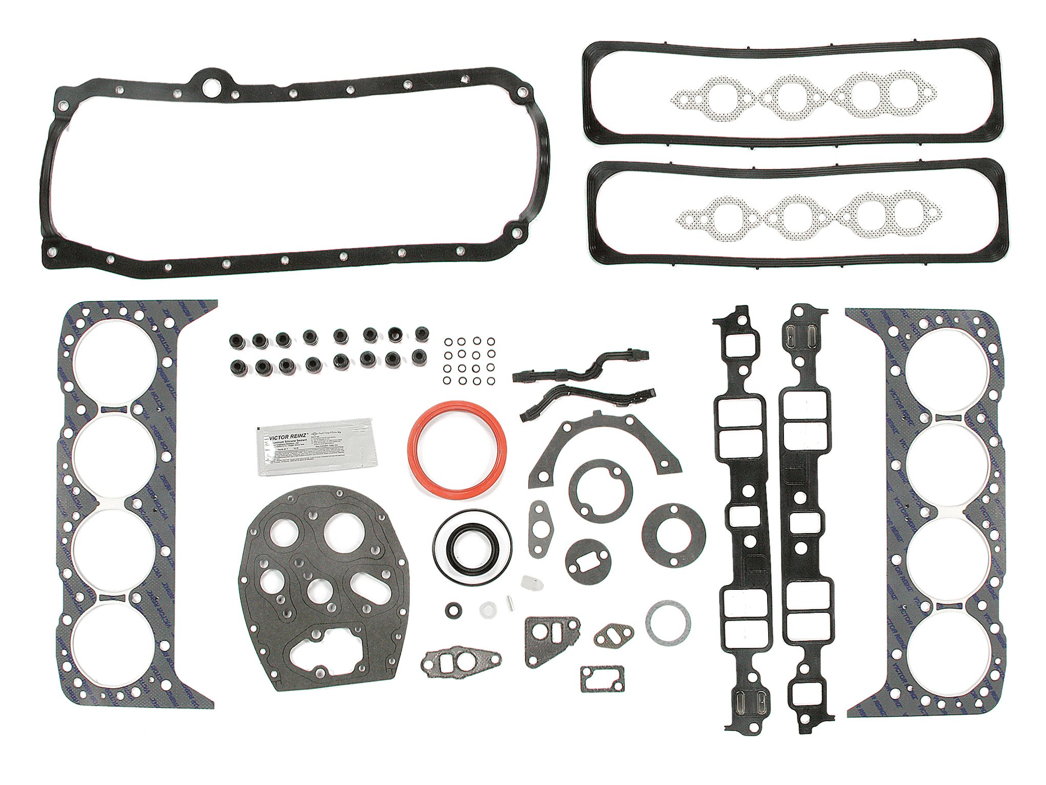 Mr Gasket 7146 Overhaul Gasket Kit Small Block Chevy 305