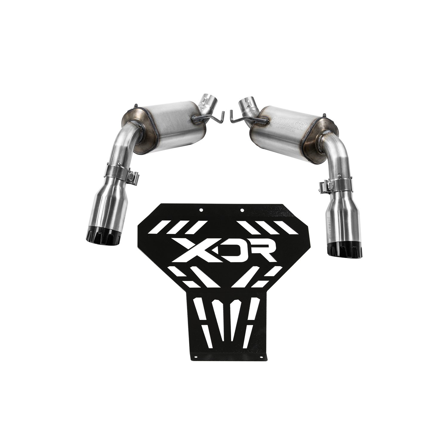 XDR 7202 XDR Competition Exhaust Kit - Maverick 1000R
