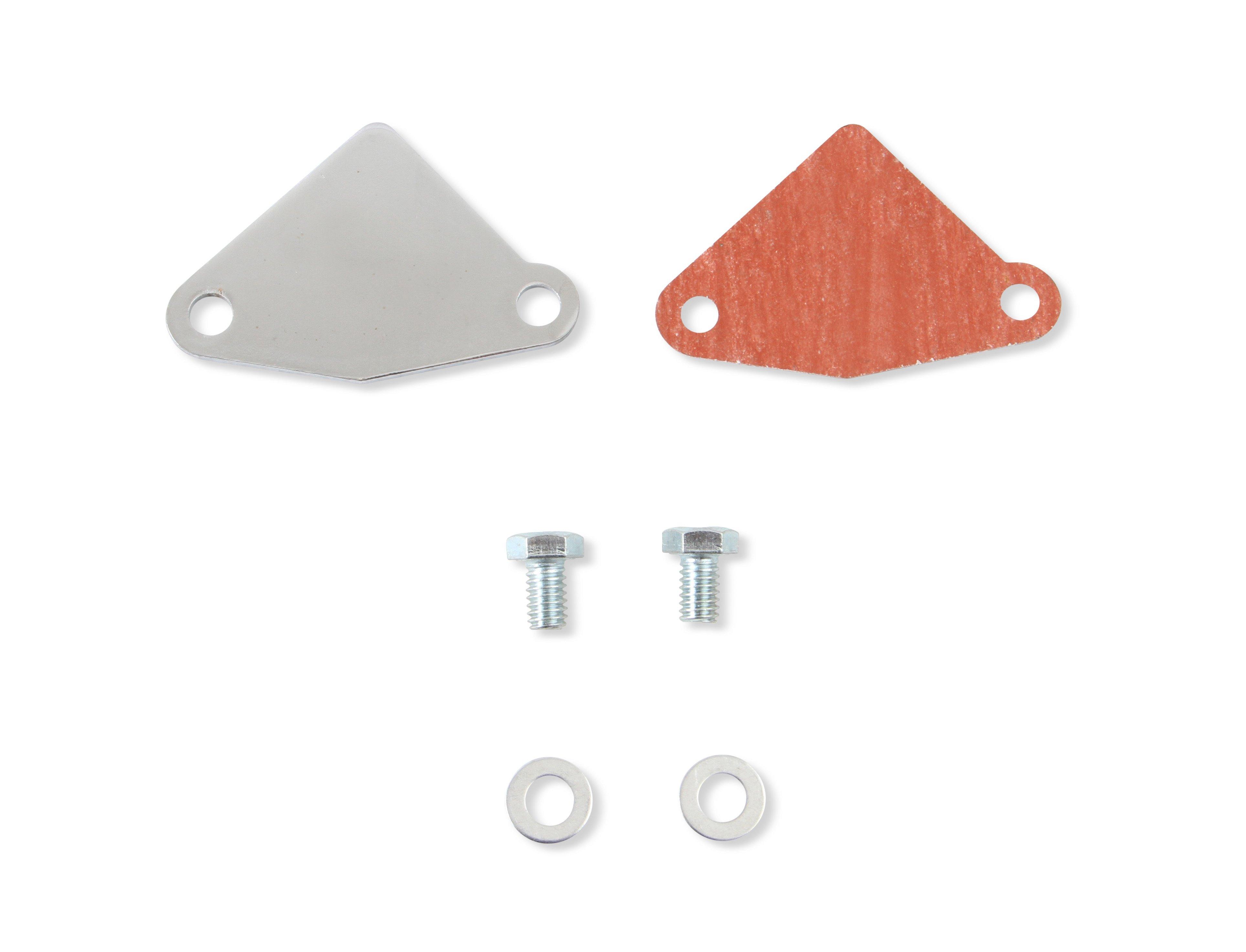 Mr Gasket 5421 Fuel Pump Block-Off Plate
