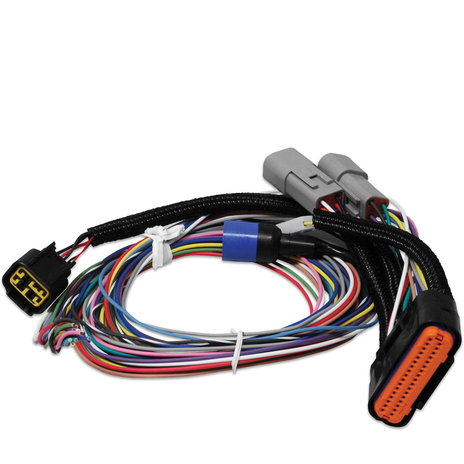 Power Grid Wiring Harness Data Diagram Obd0 To Obd1 Msd 7780 Replacement Amp Bypass