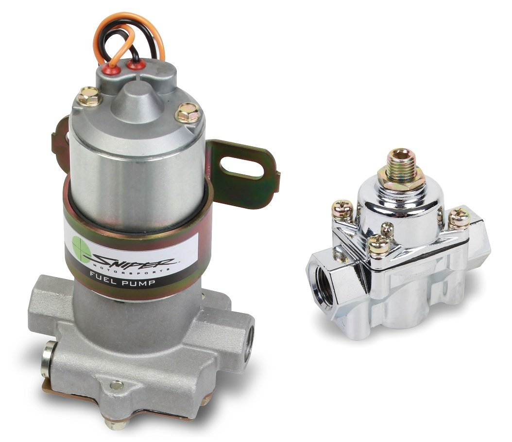 NOS 80000101 110 GPH Electric Fuel Pump with Regulator