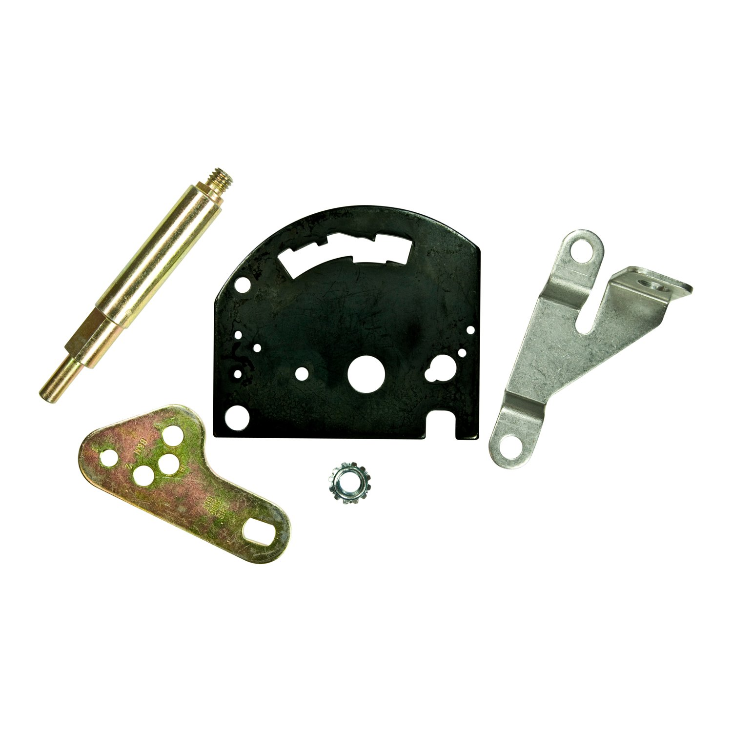 B&M Gate Plate, Shift Lever & Cable Bracket for Powerglide Transmissions