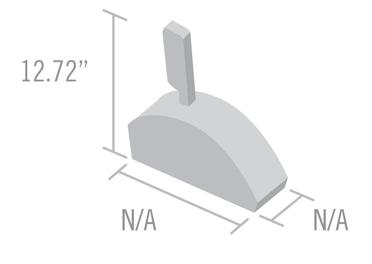 B/&M 80775 Unimatic Shifter Column To Floor Conversion 2,3,4 Spd Auto Trans