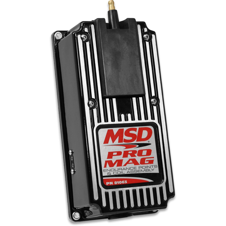 81063 - Pro Mag 12/20 Amp Electronic Points Box, Black Image