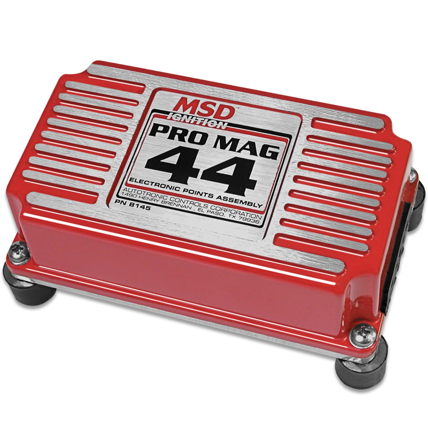 8145MSD - Pro Mag 44 Amp Electronic Points Box, Red Image