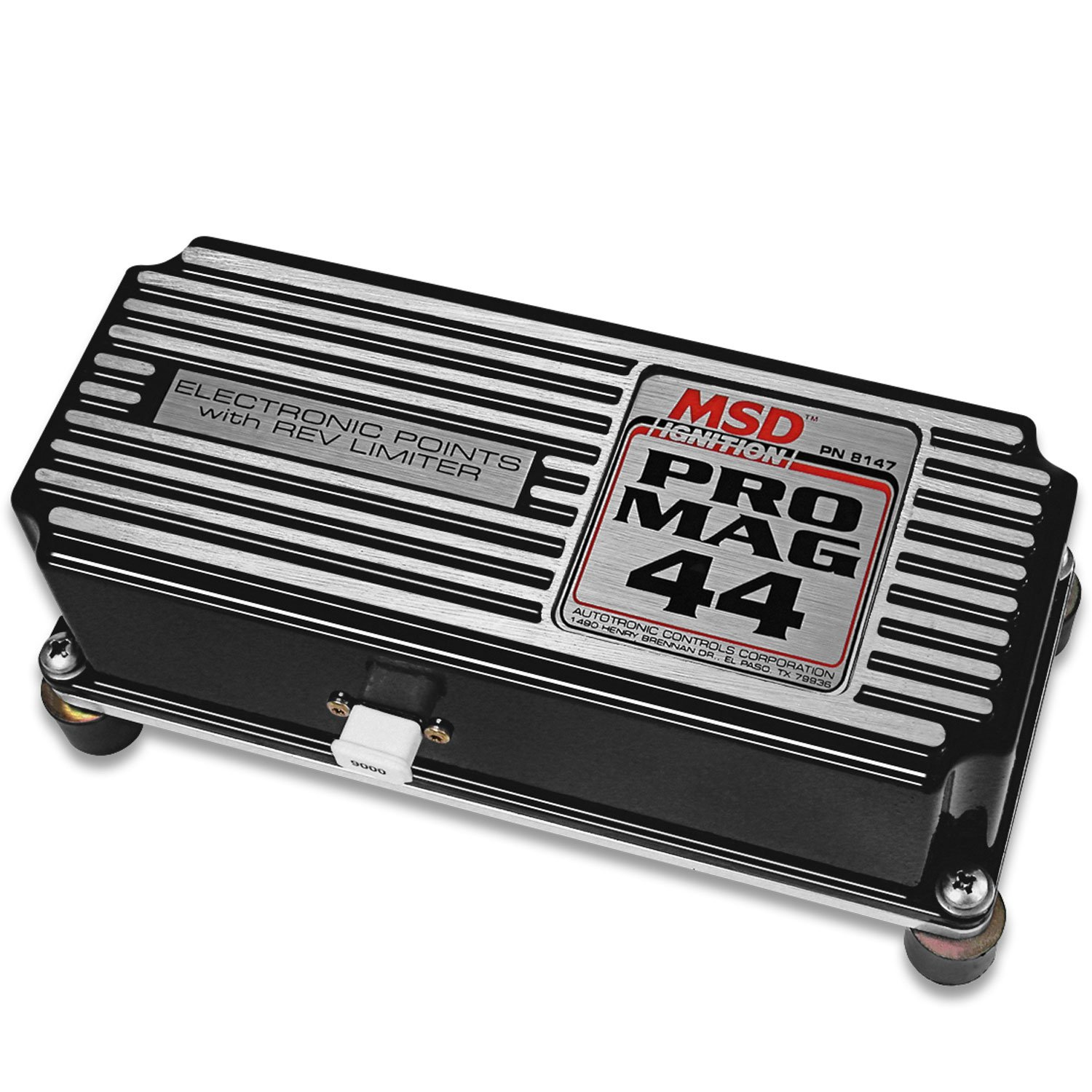 81473 - Pro Mag 44 Amp Electronic Points Box with Rev Limiter, Black Image