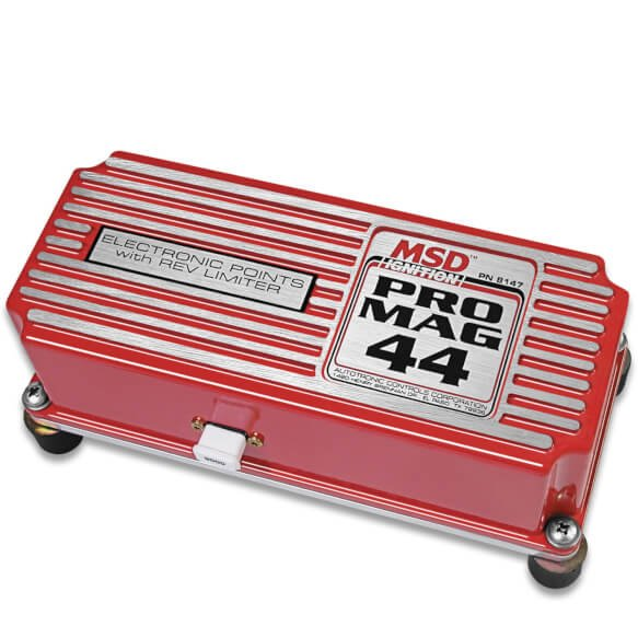 Pro Mag 44 Amp Electronic Points Box with Rev Limiter, Red