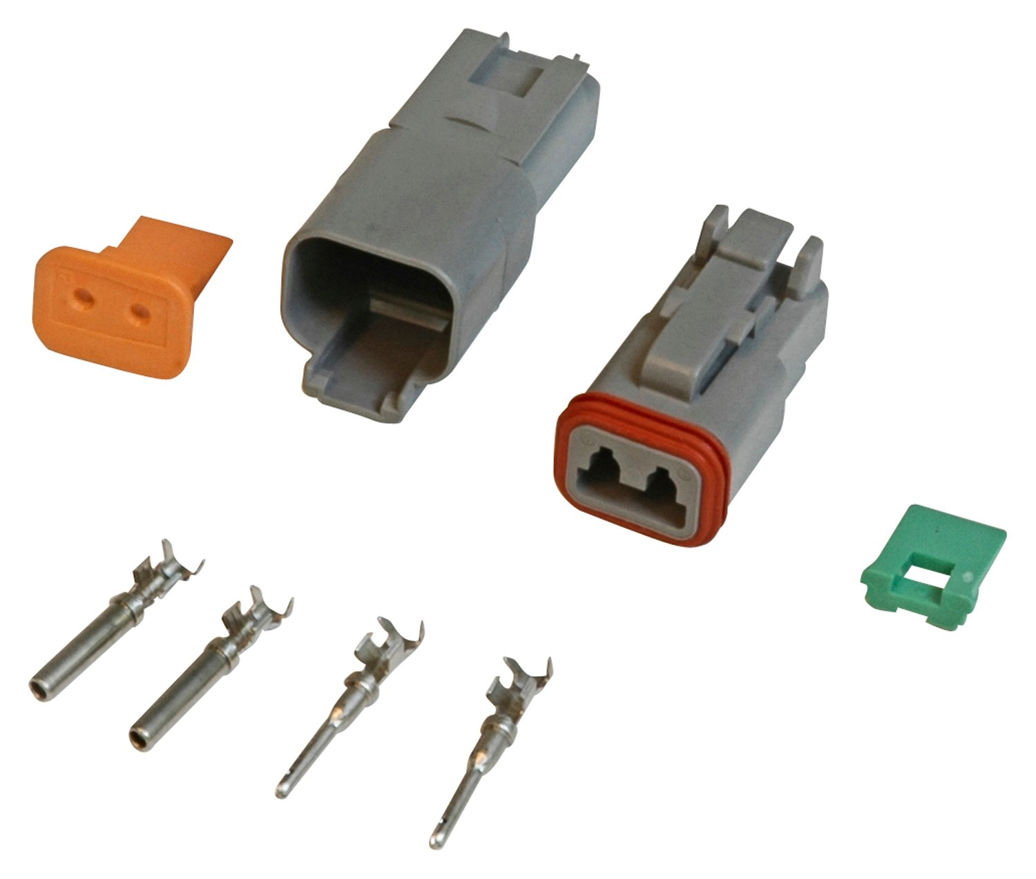 8183 - 2-Pin Deutsch Connector, 16 gauge Image