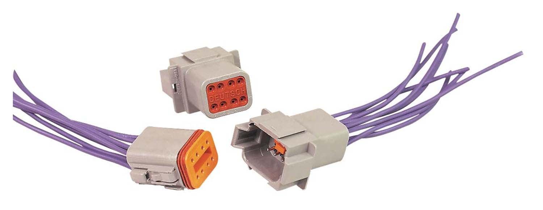 8 Pin Electronic Wire Connectors Wiring Diagrams Circuit Board Balboa 5436901 Vs500 Msd 8185 Deutsch Connector 16 Gauge Rh Holley Com 4