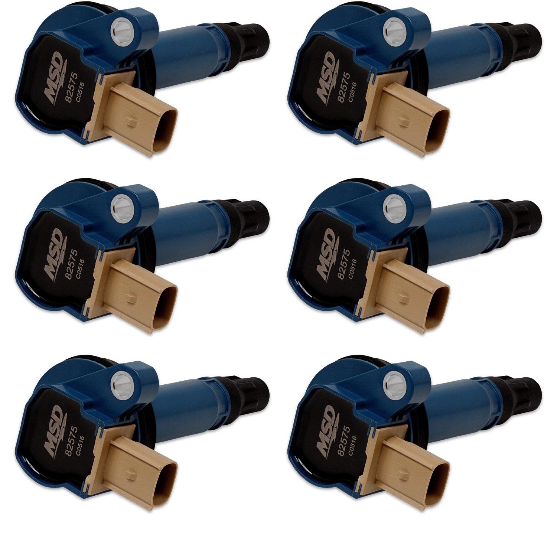 825765 - Ford Blue EcoBoost 6-Pack Coils 3.5L V6 Image
