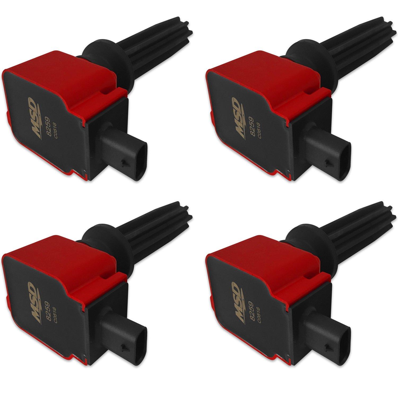 2.0 L Ecoboost >> Ford Red Ecoboost 4 Pack Coils 2 0l 2 3l