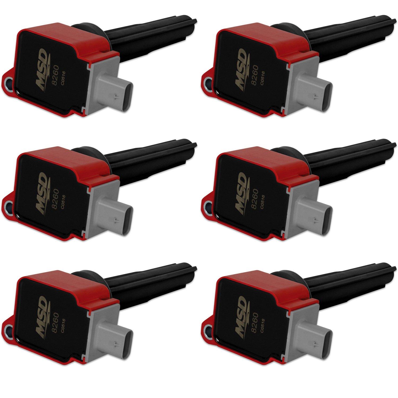 Ford Red EcoBoost 6-Pack Coils 2 7L V6 '15-'16
