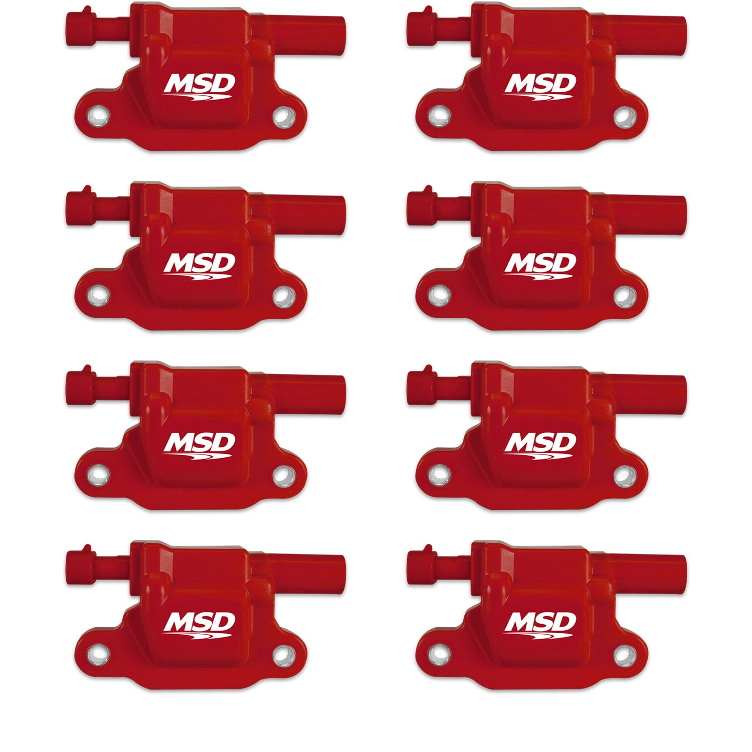 MSD 60151 Red DIS Ignition Kit for Chevy Small /& Big Block