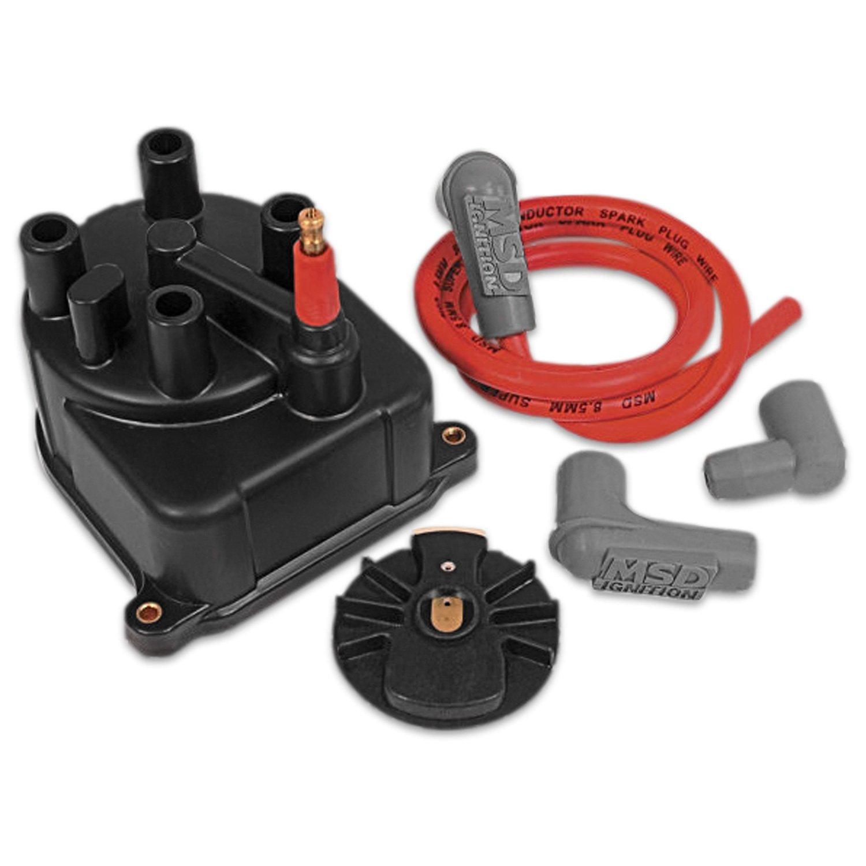 MSD 82923 Distributor Cap/Rotor, Modified, Civic/Integra LS 92-00 ...