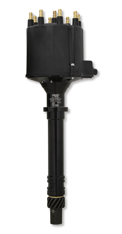 83663 - GM Late Model HEI V8 Ext Coil Distributor- Black Image
