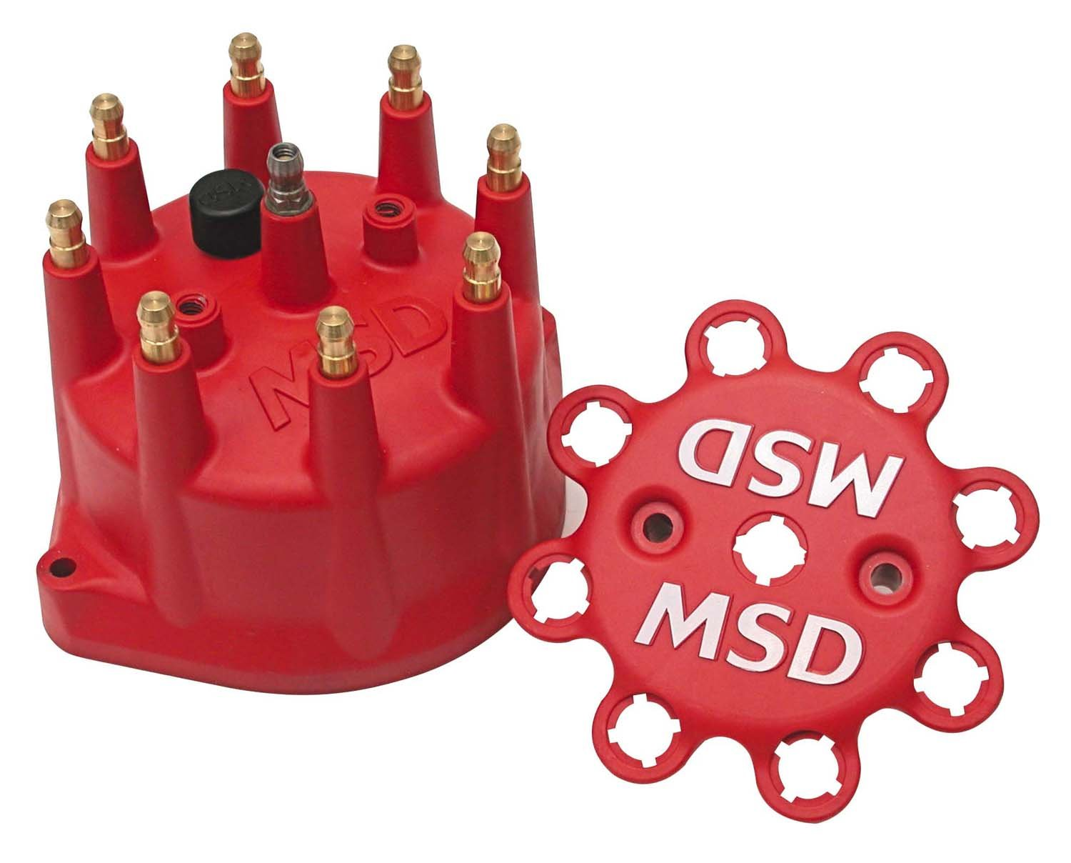 8431 - Red Distributor Cap Image