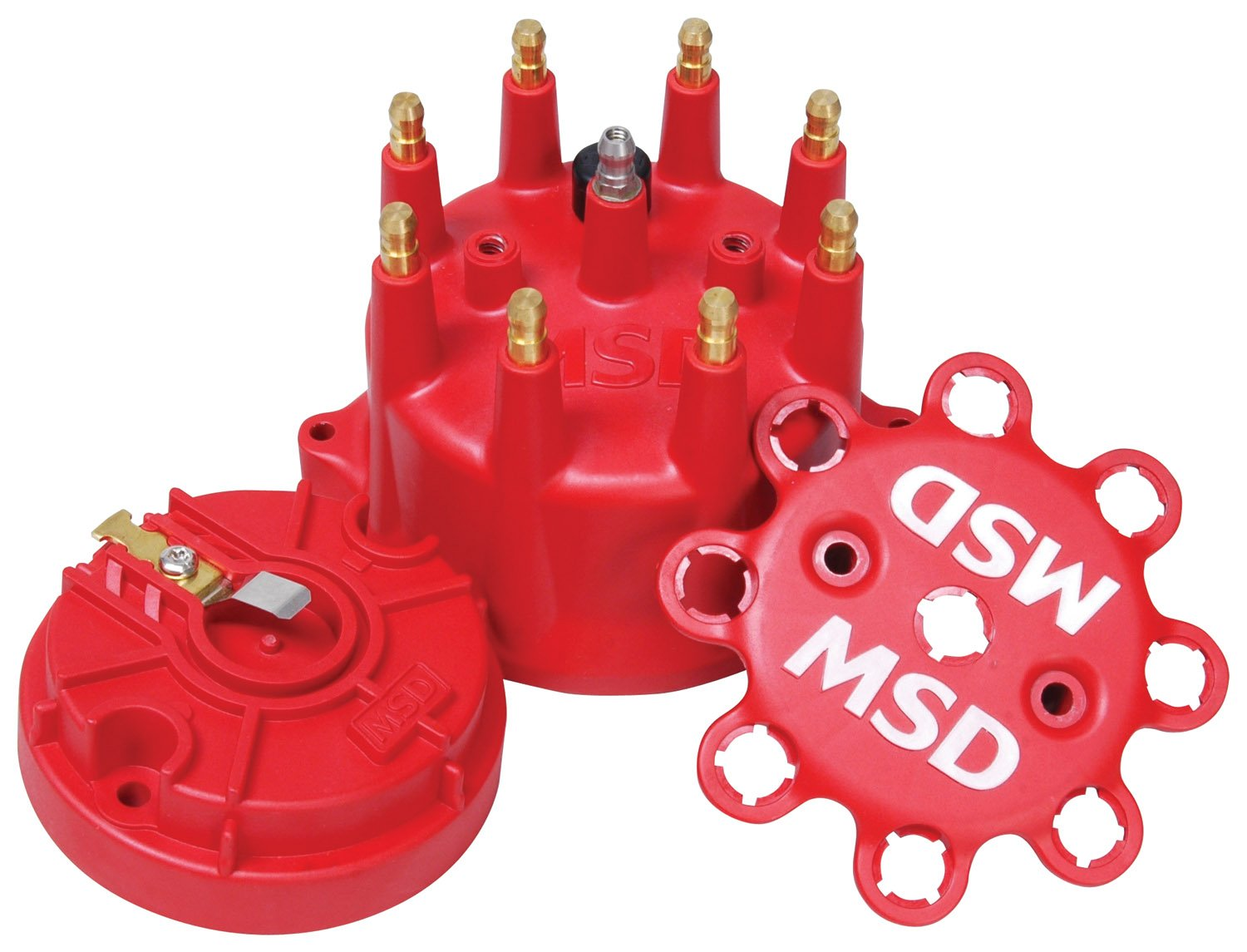 84315 - MSD Red Cap/Rotor Kit Image