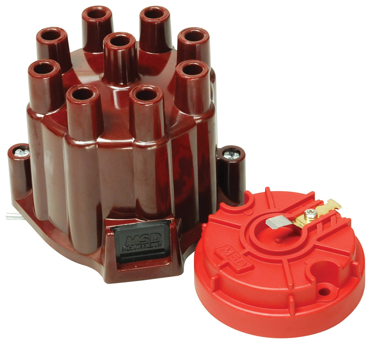 8442 - Distributor Cap and Rotor, MSD/GM V8 Points Image