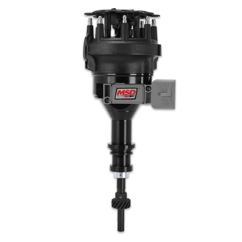 84563 - Ford 5.0L Black Pro-Billet Distributor Image