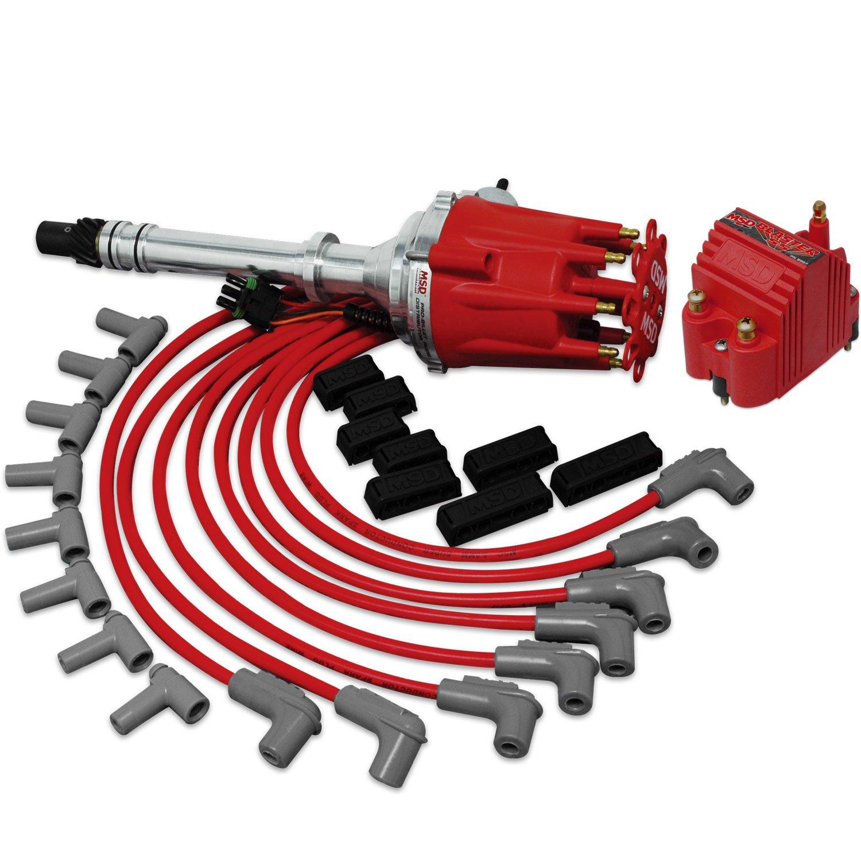Msd 84741 Crate Engine Gm Kit Pn 8360 8207 Univ Wire Set Duraspark Conversion