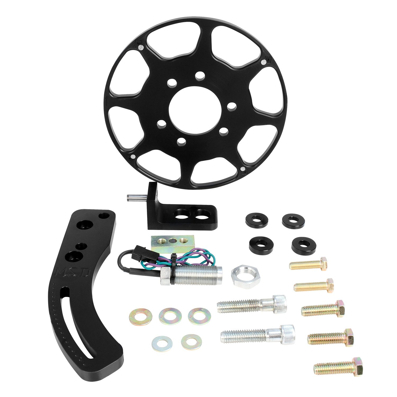 86203 - Black Chevy Big Block Crank Trigger Kit Image