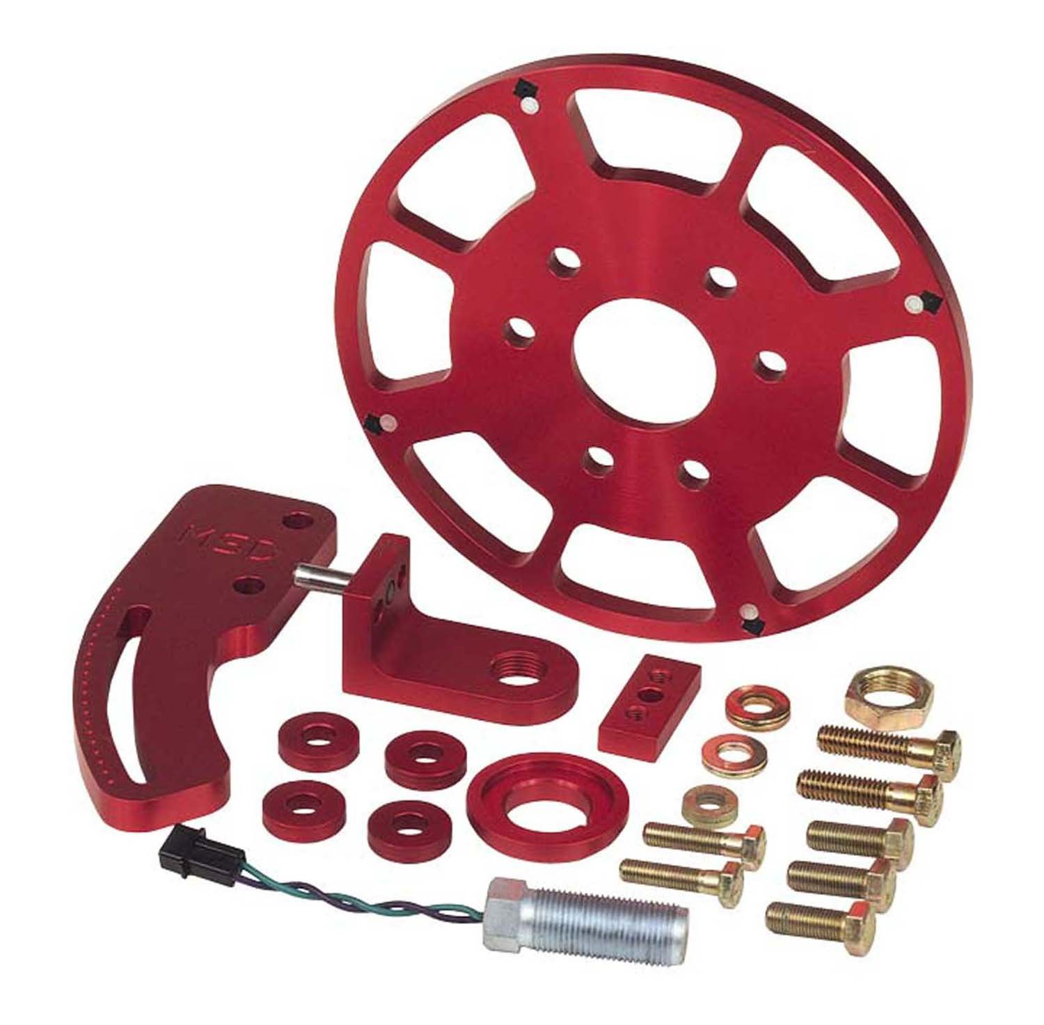 msd 8644 ford big block crank trigger kit msd performance products 8644 ford big block crank trigger kit image