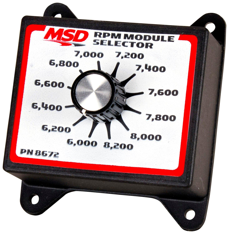 msd 8672 rpm module selector  6 0k