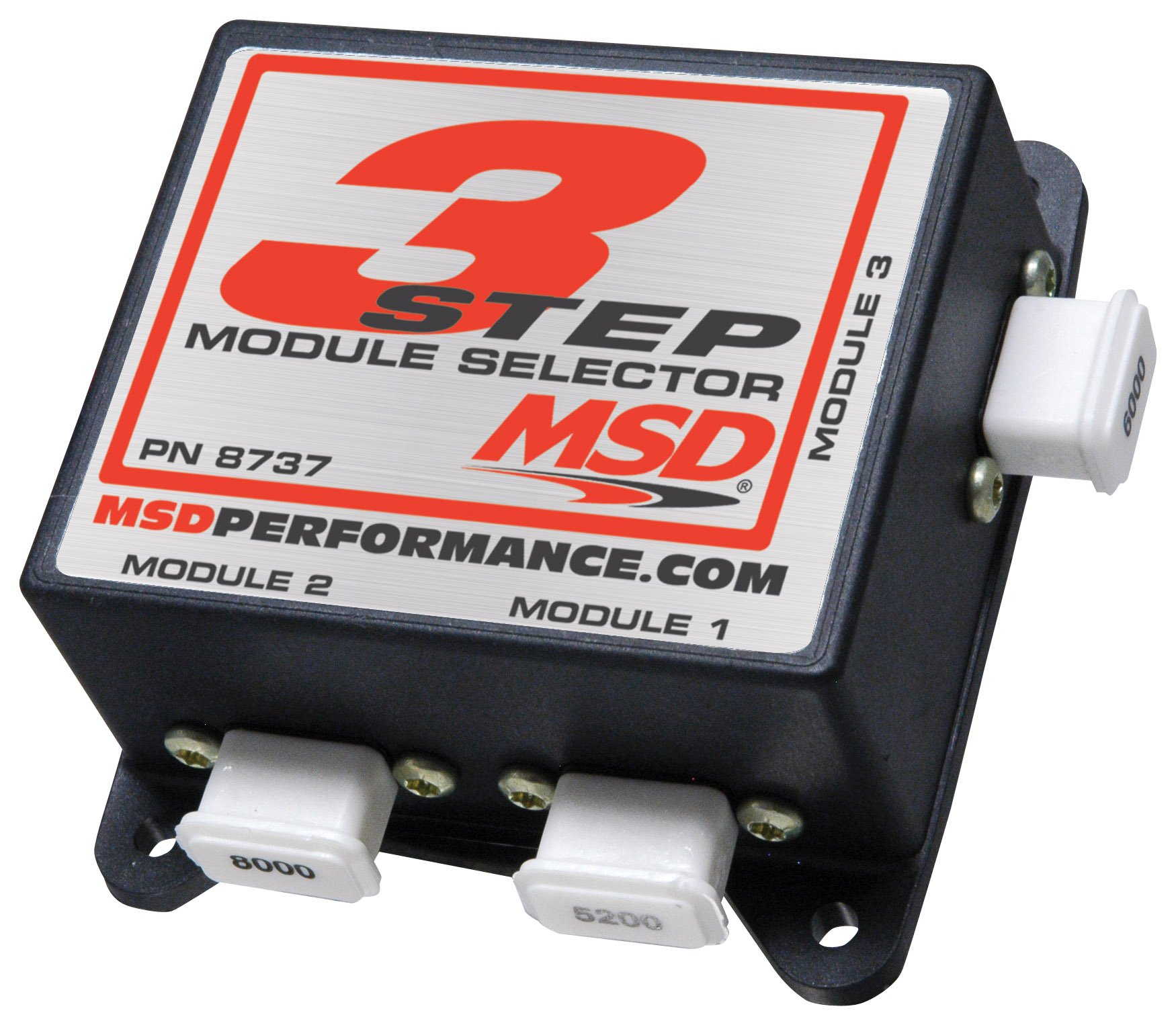 msd three step module selector msd performance products 8737 three step module selector image