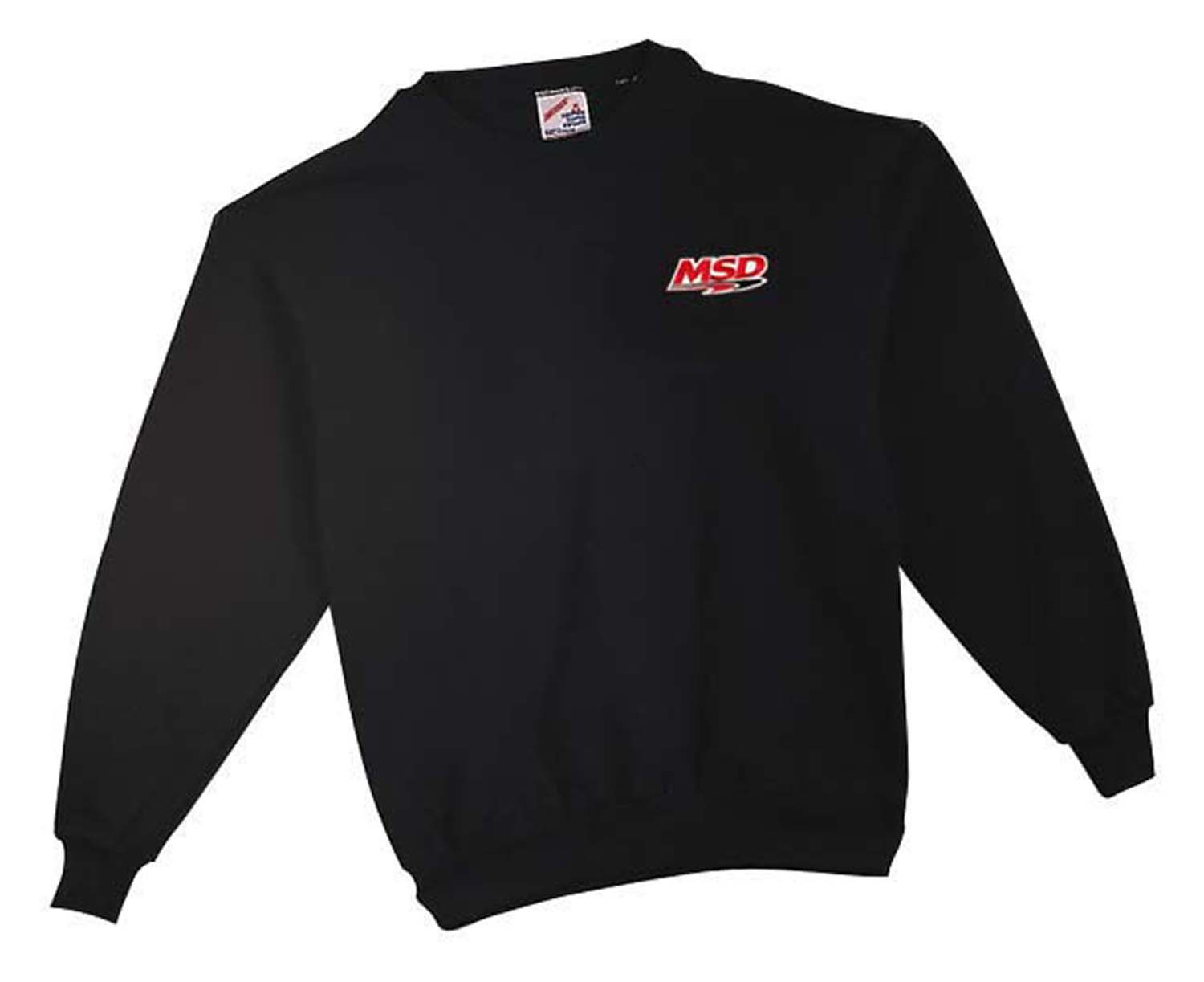 9385 - MSD Racing Sweatshirt, Black, Large Image