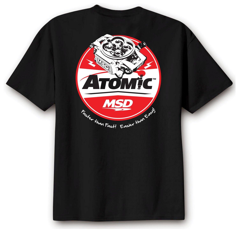 95115 - MSD Atomic T-Shirt, Black, Medium Image