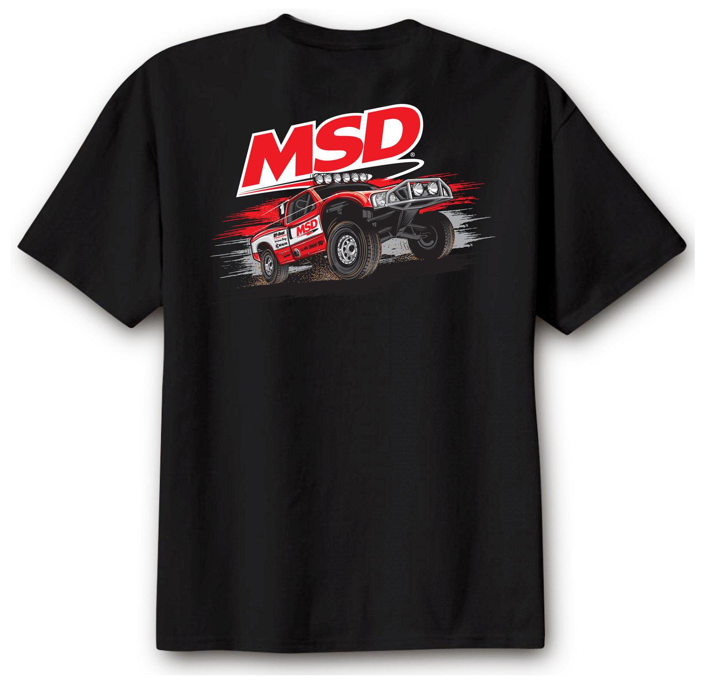 95123 - MSD Off Road T-Shirt, Black, Large Image