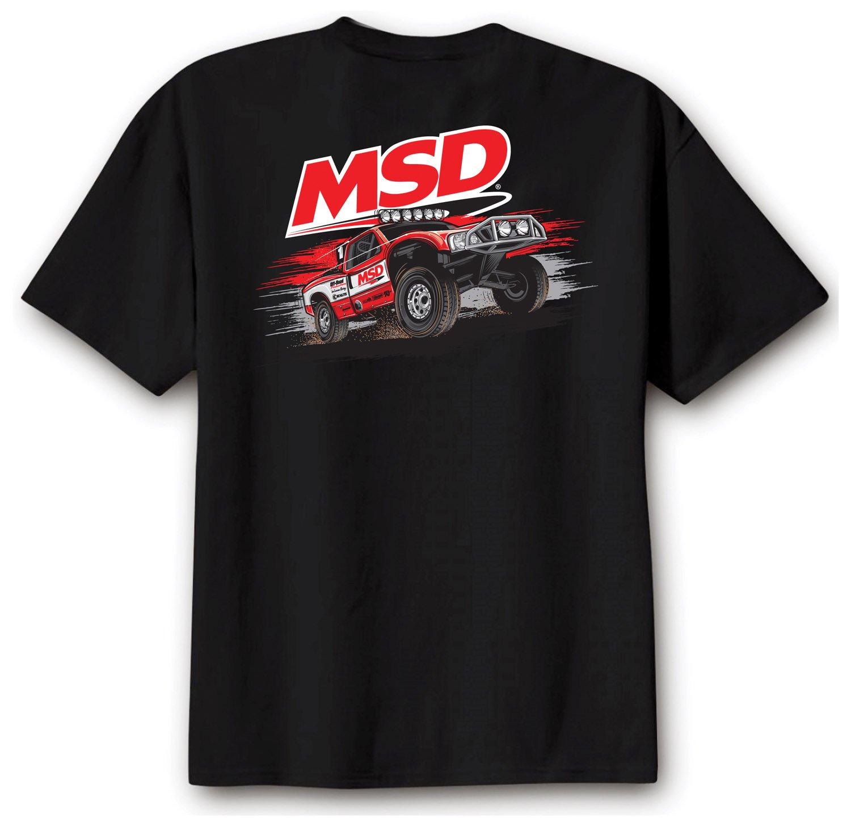 95133 - MSD Off Road T-Shirt, Black, X-Large Image