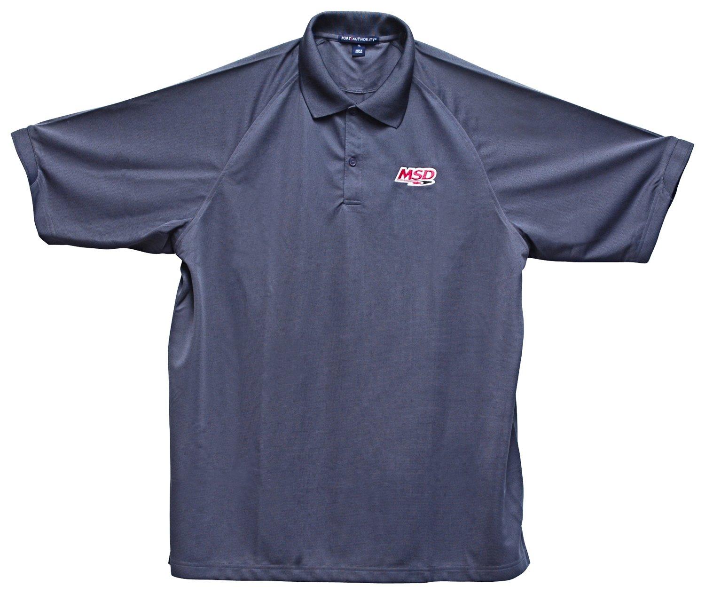 9513 - MSD Polo Shirt, Charcoal, X-Large Image