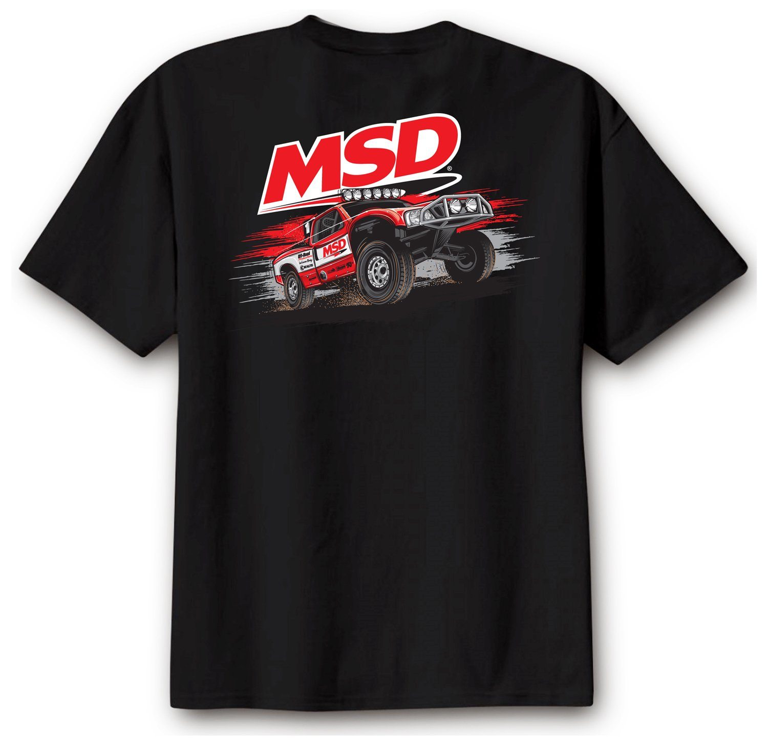 95143 - MSD Off Road T-Shirt, Black, XX-Large Image