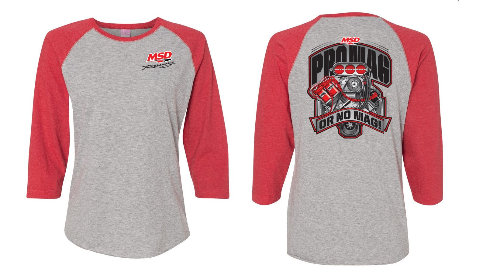 95227 - MSD Racing, Jersey Baseball T-Shirt, Large Image
