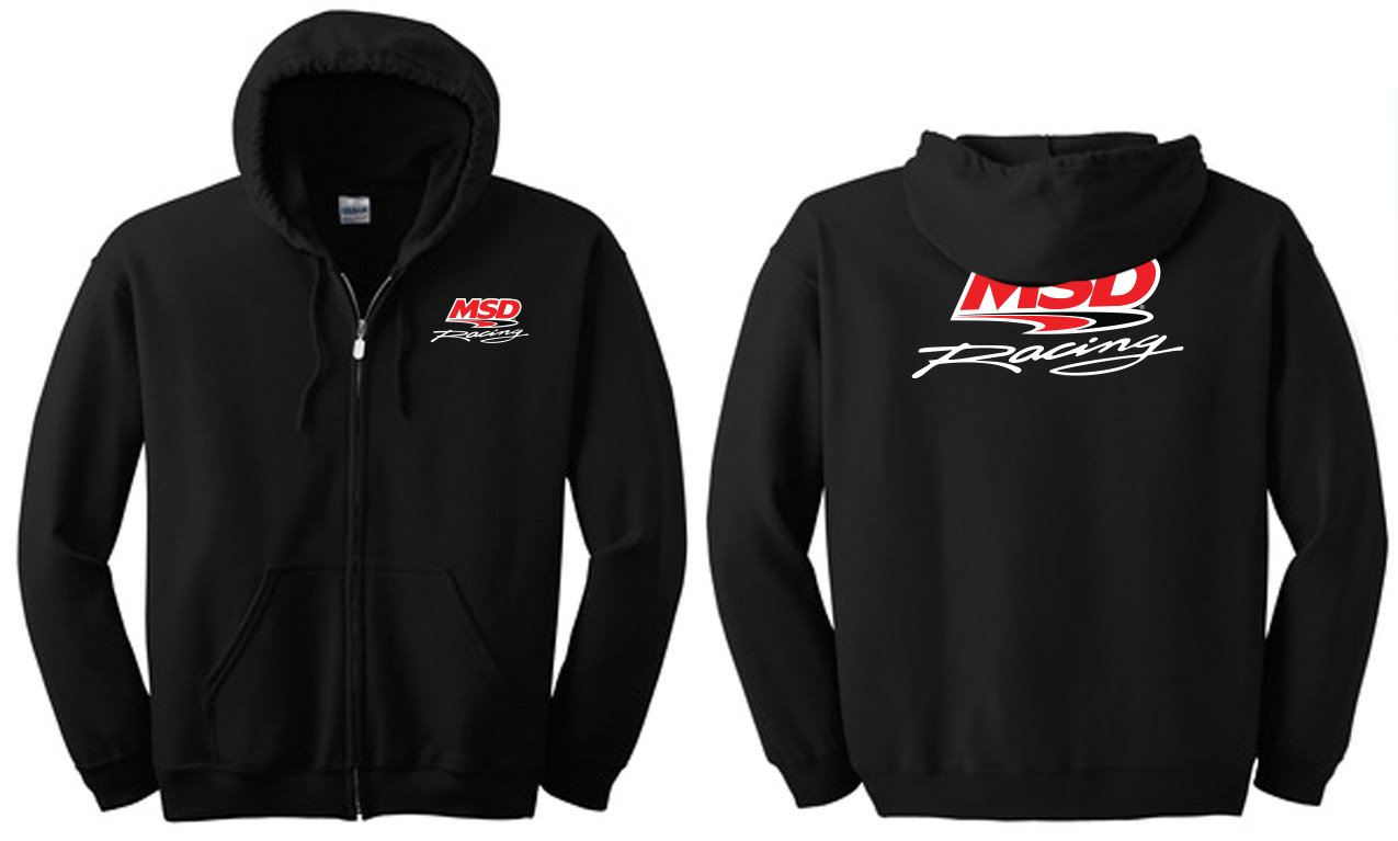 95229 - MSD Racing Zip Hoodie, Large Image