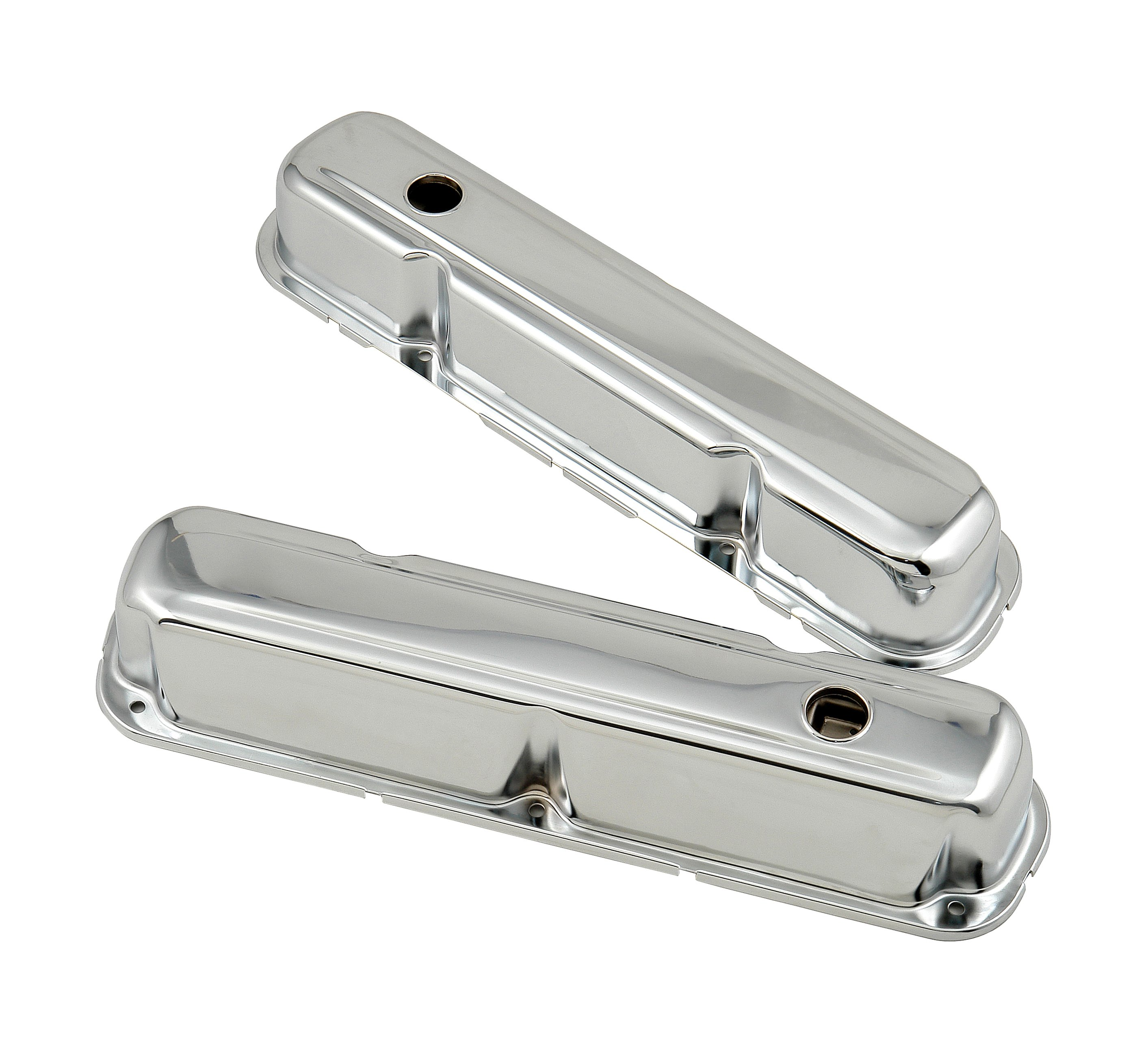 Mr. Gasket 9806 Chrome tall-style valve covers for 1964-91 Chrysler ...