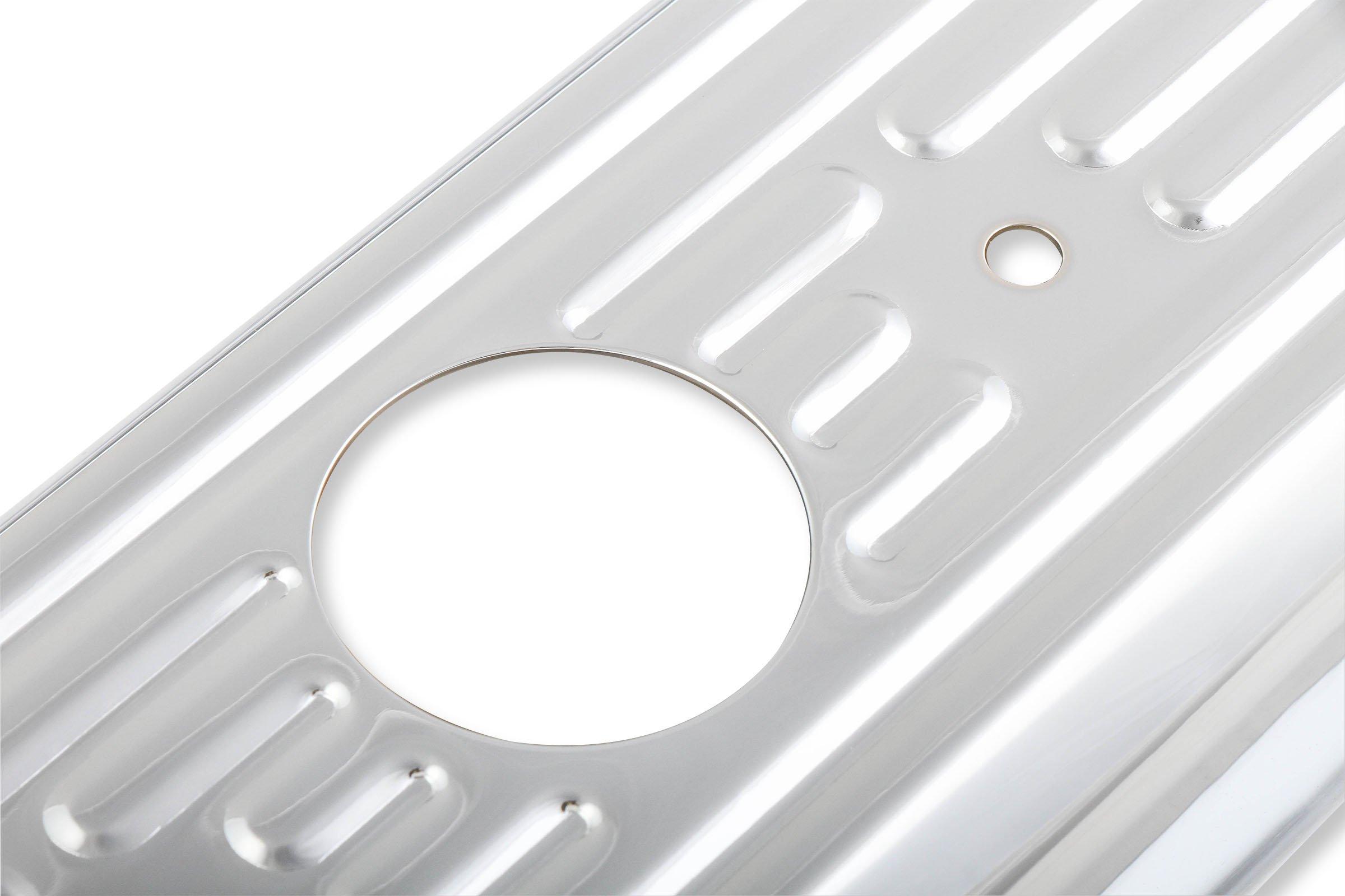 Gasket 9847 Chrome Plated Valve Cover Cap Mr