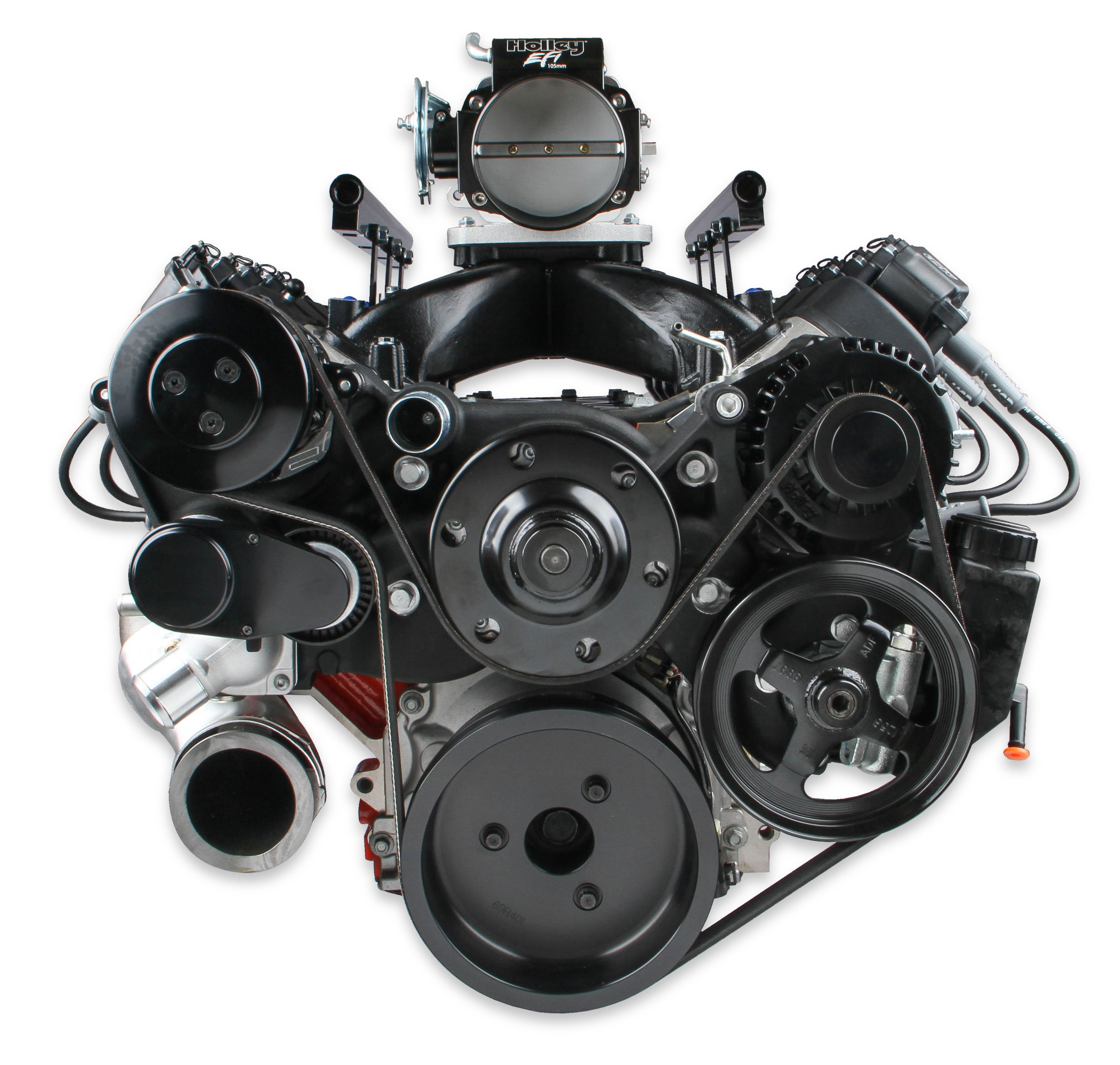Ls Ls7 /& Dry Sump App Blac Holley Valve Cover